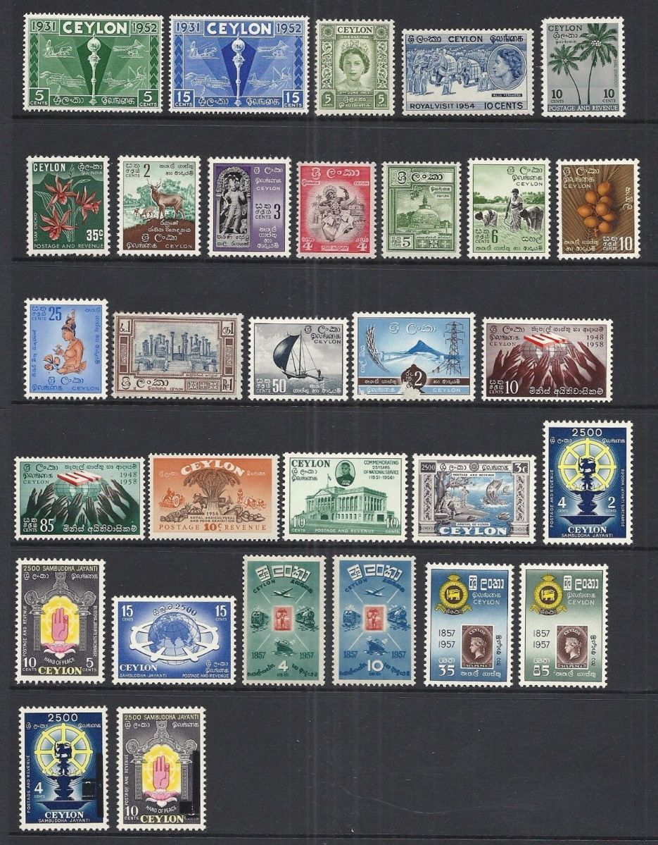 Rare Coins & Stamps of Ceylon (Sri Lanka)