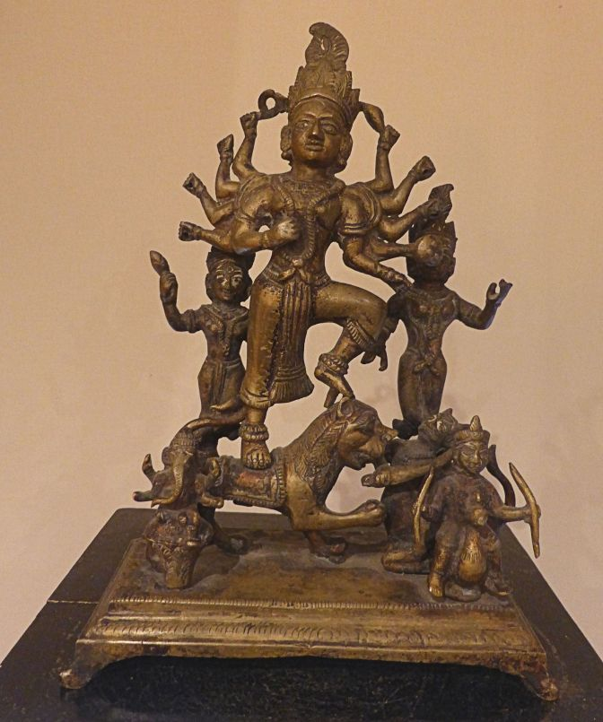 Durga as an Inspiration to Hindu Art & Sculpture