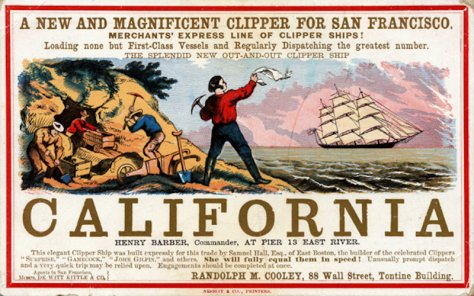 GOLD RUSH CALIFORNIA