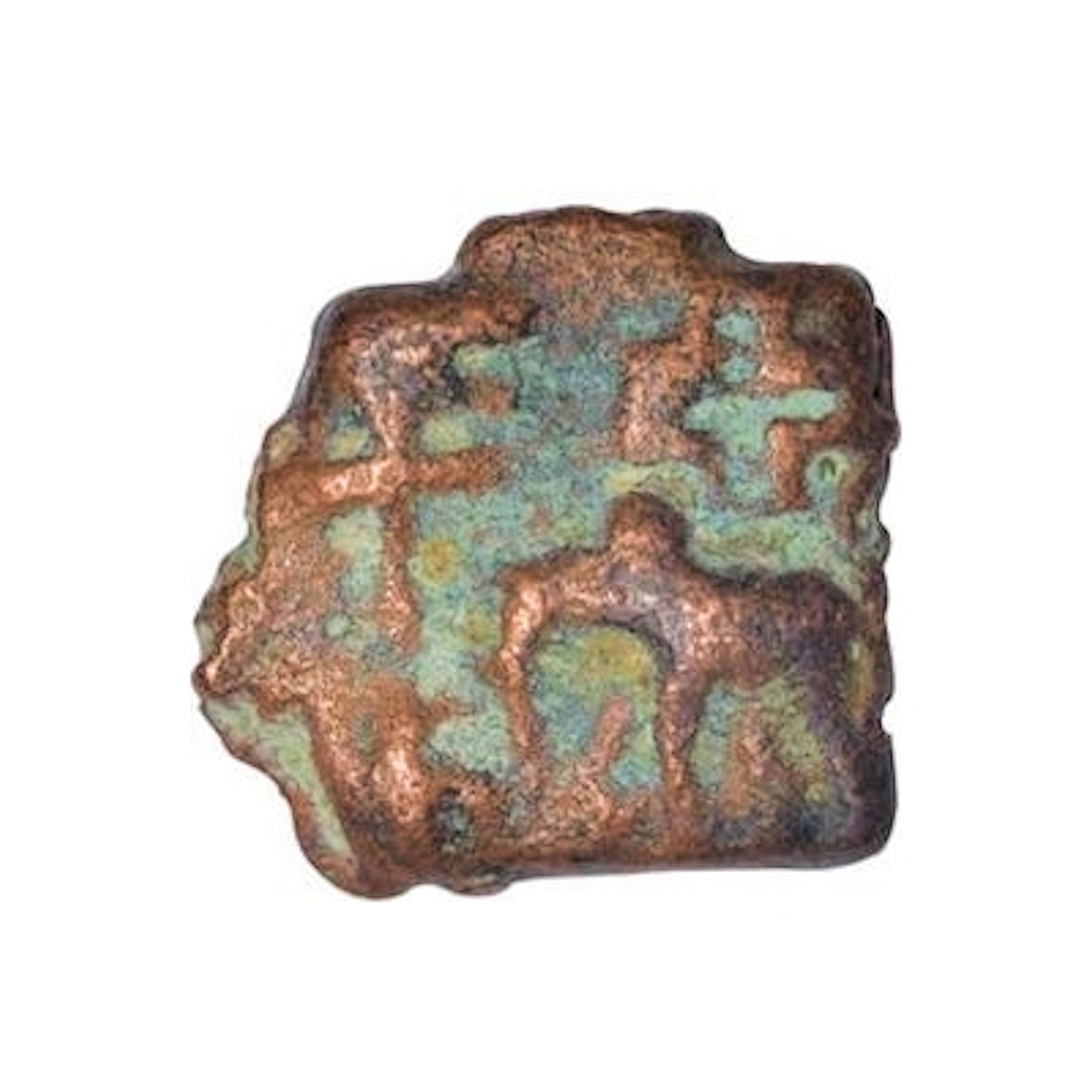 Satavahana Dynasty, Satkarni I, Copper Unit,