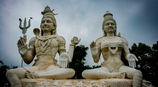 SHIVA & PARVATI, PRIMORDIAL POWERS OF GENDER